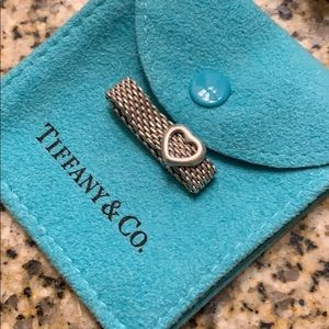 Tiffany & Co. SterlingHeart Mesh Ring